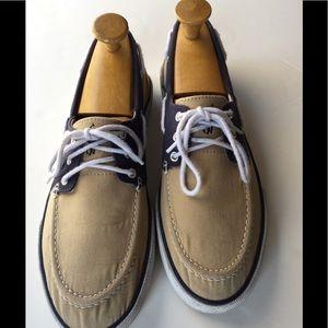 Polo Ralph Lauren Fran's Canvas boat shoes SZ-11D
